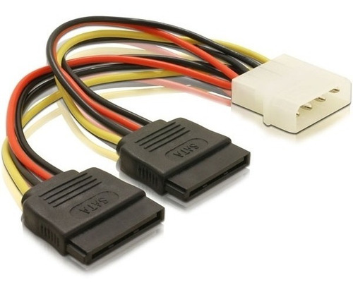 Cable Molex A 2 Sata 20 Cm
