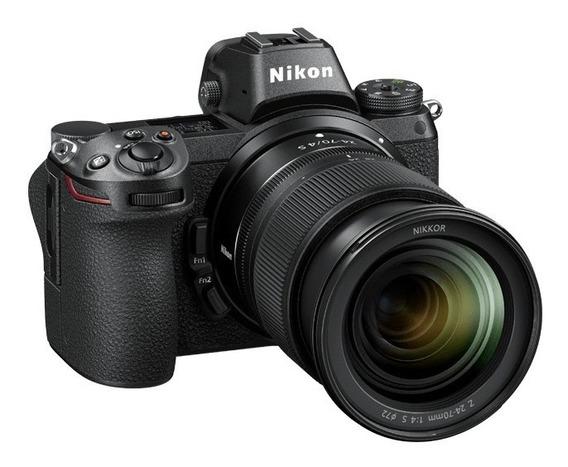 Camara Mirrorless Nikon Z6 Kit 24-70mm F/4 Garantia Oficial