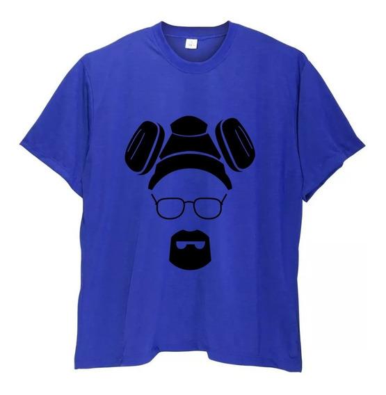 Camiseta Masculina Plus Size Breaking Bad Heisenberg Até G6