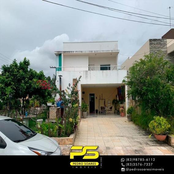 Casa Com 4 Dormitórios Para Alugar Por R$ 6.000/mês - Intermares - Cabedelo/pb - Ca0582