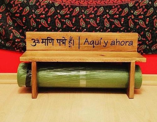 Estante Porta Mat Para Yoga