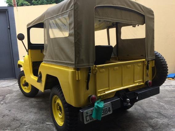 Jeep Ford /willys Original ,pneus Novos, 4 Marchas
