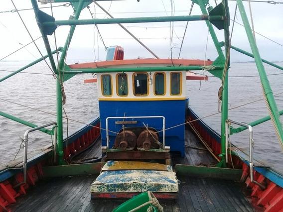 Barco Pesca Camarão Arrasto Duplo