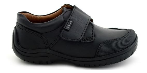 Zapato Escolar Coqueta Para Niño 80606 Negro [cta682]