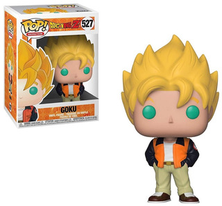 Funko Pop Dragon Ball Z- Goku #527 Casual - Nuevo