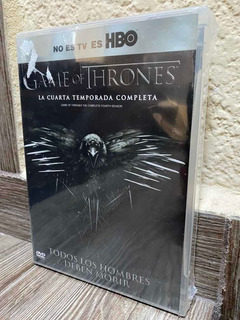 Juego De Tronos Game Of Thrones Temporada 4 Hbo Dvd