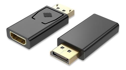 Cable Adaptador Convertidor Displayport Dp A Hdmi Full Hd