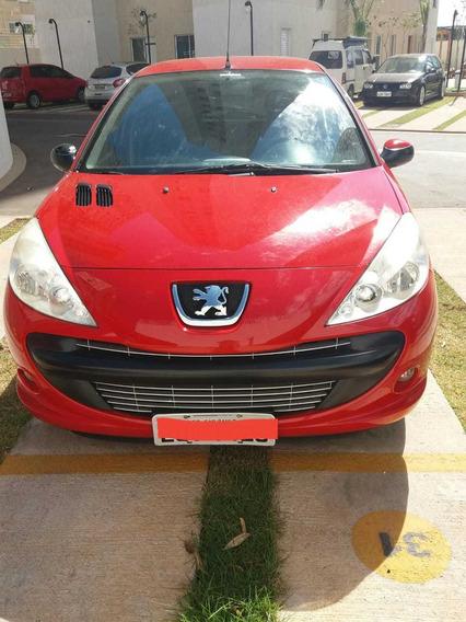 Peugeot 207 - Completo - Vermelho