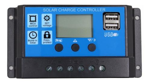 Controlador De Panel Solar 30amp