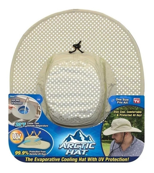 Gorro De Protección Solar Con Protección Uv Arctic Hat