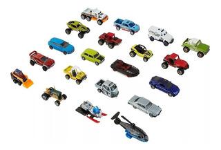 Matchbox Pack 20 Automoviles Diferentes Mattel