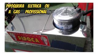 Maquina De Fazer Pipoca Eletric Inox Loja De Fabrica+brindes