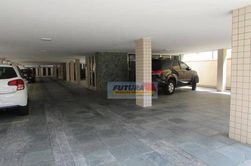 Imagem 1 de 27 de Apartamento Com 2 Dormitórios À Venda, 80 M² Por R$ 360.000,00 - Gonzaguinha - São Vicente/sp - Ap2434