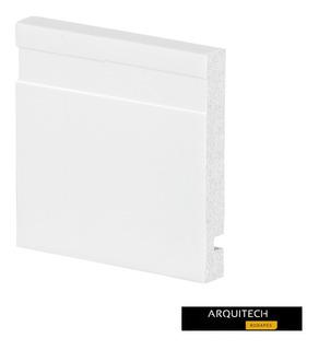 Rodapé 10cm Poliestireno Arquitech 100%virgem (kit 50pç)