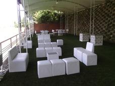 Alquiller De Puff Mobiliario Area Lounge Candy Bar