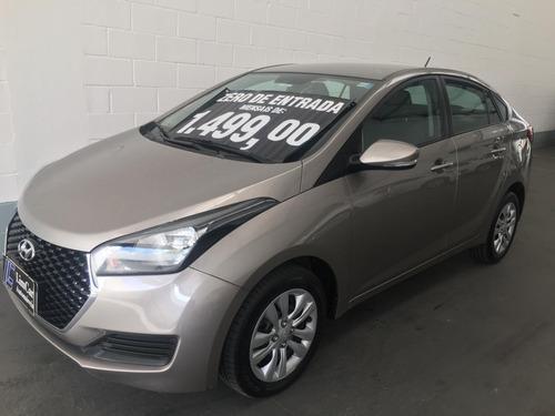 Hyundai Hb20s 1.6 Automatico Ano 2019 Zero De Entrada