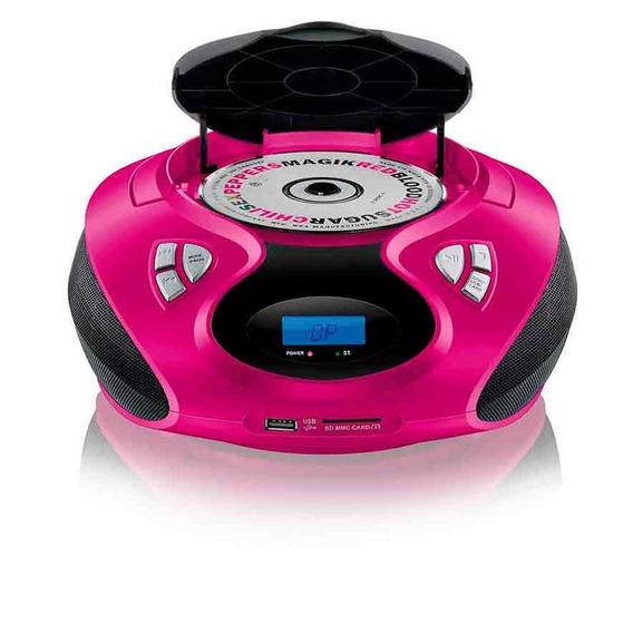 Rádio Com Cd Player Multilaser Usb Pendrive Cartão Mp3 Fm