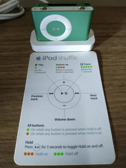 Apple iPod Nano Shuffle 2ªgeração 1 Gb Base E Caixa Original