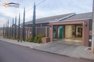 Casa Com 2 Dormitórios À Venda Por R$ 800.000,00 - Itaperuçu - Curitiba/pr - Ca0148