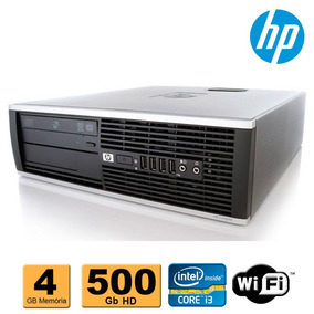 Cpu Corporativo Slim Hp Elite 8100 Core I3 4gb 500gb Wifi