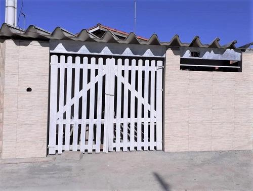 Casa Com 2 Dormitórios À Venda, 48 M² Por R$ 140.000 - Jardim Suarão - Itanhaém/sp - Ca0801