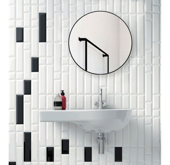 Espejo Circular 60 Baño Living Comedor Redondo Envio Gratis