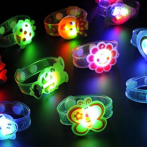Luz Flash Brinquedos Pulso Mão Tome Dança Party Jantar Par 3