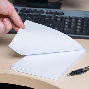 100 Rascunhos Folhas Blocadas Notas Anotações Caderninho