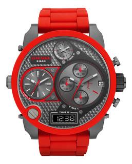 Reloj Diesel Silicone Red The Daddies Series