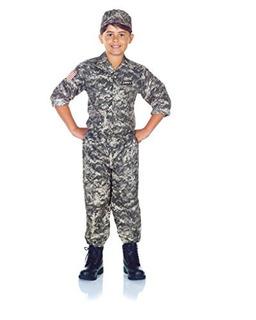 Underwraps Childrens Army Camo Conjunto Disfra