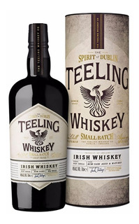 Whisky Irlandes Teeling Irish Small Batch En Lata Regalo