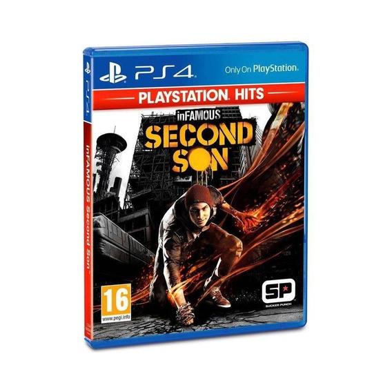 Jogo Infamous Second Son Playstation 4 Novo Português Ps4