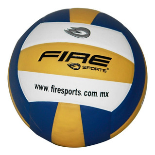 2 Balones De Voleibol #5 Microfibra Fire Sports