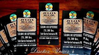 Diseños De Invitacion 18 Años En Mercado Libre Argentina