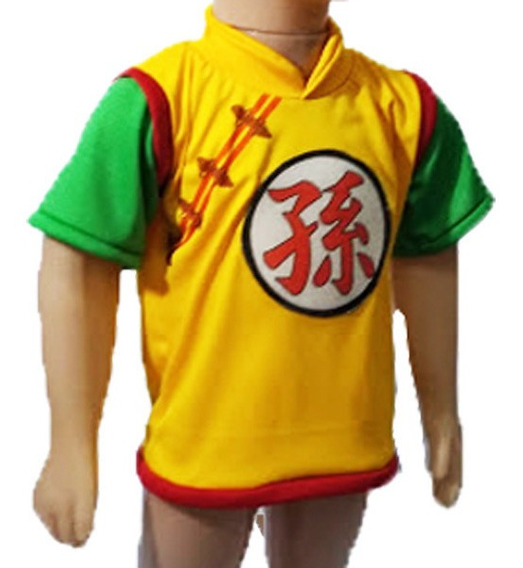 Remera Gohan Niño Bebe Dragon Ball Tipo Disfraz Unica!!!