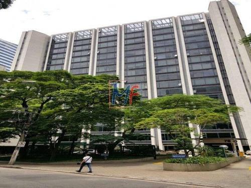 Imagem 1 de 7 de Ref  9480 - Excelente Sala Comercial Em Condomínio Para Locação No Bairro Cidade Monções, 8 Vagas, 374,80 M - 9480
