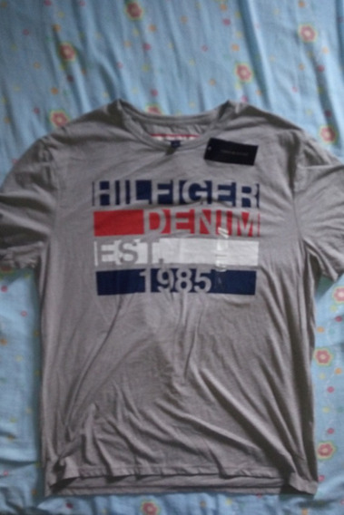 Camiseta Tommy Hilfiger Não Lacoste