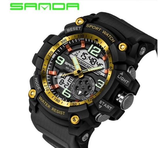 Relógio Masculino Esporte / Militar - Sanda - G-shock Barato