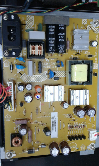 Placa Fonte Tv Philips Modelo. 191tv4l Cod.715g5147-p01-000-