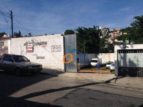 Terreno À Venda, 648 M² Por R$ 1.450.000 - Vila Amélia - São Paulo/sp - Te0060