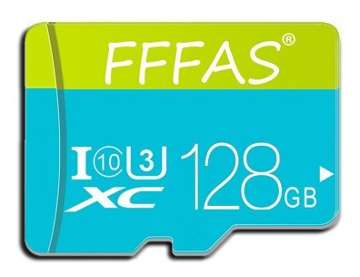 Cartão Micro Sd 128gb Fffas C10 U3 4k Drone Gopro Smartphone