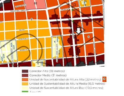 Terreno Almagro Excelente Lote Prox. Edif +1500mts2 8pisos