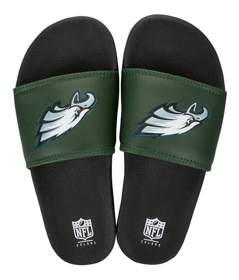 Chinelo Philadelphia Eagles Slip On Colors - Nfl