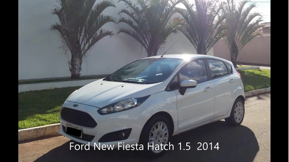 Ford New Fiesta Hatch 1.5 Branco 2014