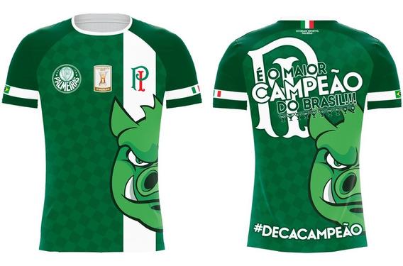 Camiseta Palmeiras Decacampeão