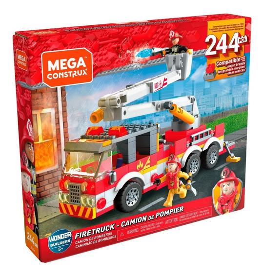 Mega Construx Ciudad Camión De Bomberos