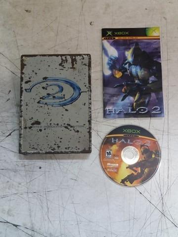 Halo 2 Unlimited Edition Funcionando Xbox Com Manual