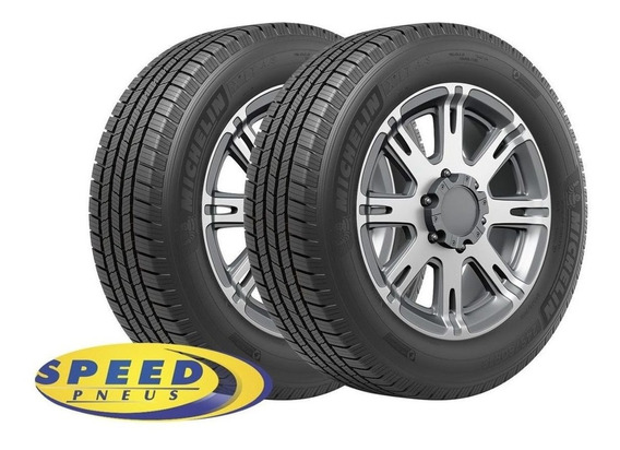 Kit Com 2 Pneus Michelin 265/75r16 123/120r Aro 16 X® Lt A/s