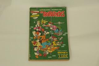 Hq Disney Especial N°7 Os Trapalhões Gibi Editora Abril 1981