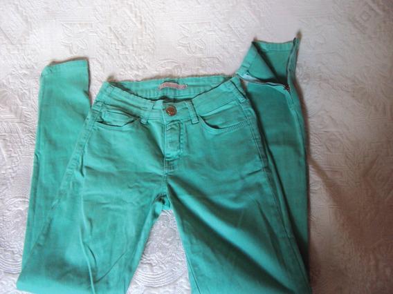 Calça Verde De Sarja Ysc Yessica Tamanho 36